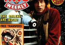 The Cover of Doctor Who Weekly #1 (1979) (c) Panini