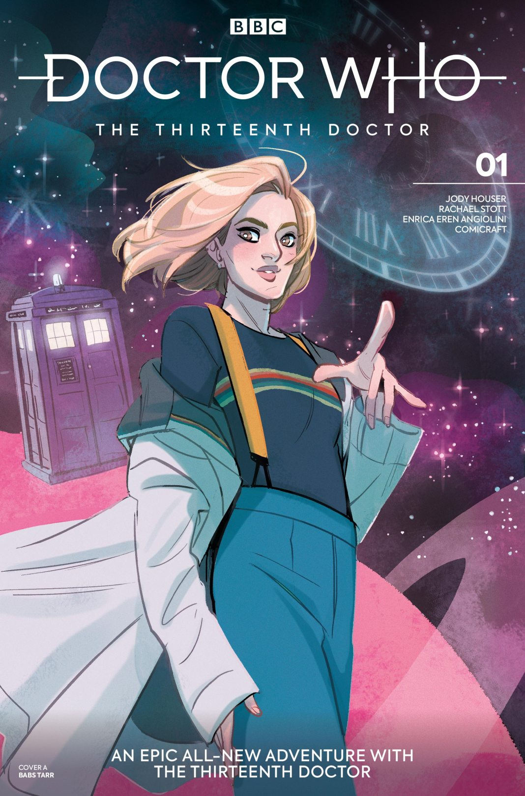 Doctor Who: Thirteenth Doctor #1 - Babs Tarr Variant