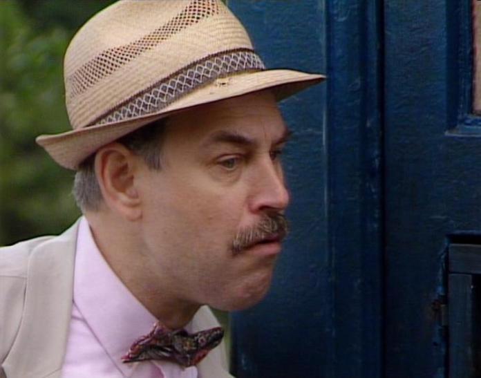 Morgan Deare as CIA Agent Hawk in 1987's Delta and the Bannermen (c) BBC