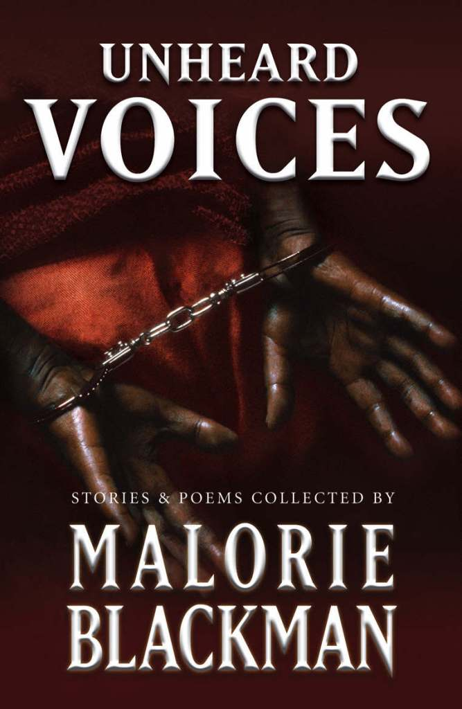 The cover to Unheard Voices, the Blackman edited anthology honouring the 200th anniversary of aboliton