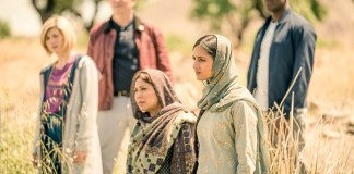 Doctor Who - Series 11 - Episode 6 - Demons of the Punjab - The Doctor (JODIE WHITTAKER), Graham (BRADLEY WALSH), Hasna (SHAHEEN KHAN), Umbreen (AMITA SUMAN), Ryan (TOSIN COLE) - (C) BBC / BBC Studios - Photographer: Ben Blackall