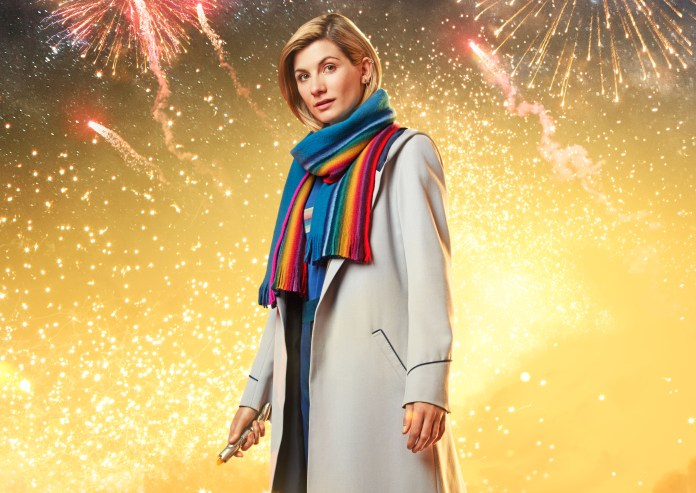 Resolution - The Doctor (JODIE WHITTAKER) - (C) BBC/ BBC Studios - Photographer: Henrik Knudson