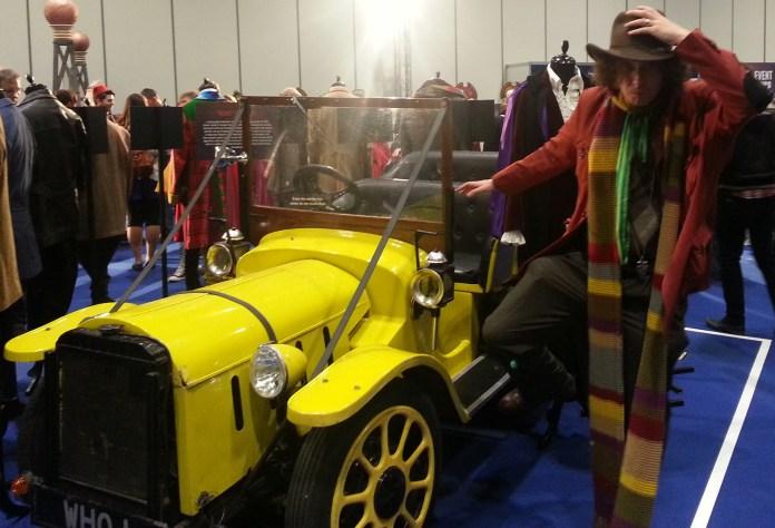 Meeting the original Bessie at the 50th Celebration (c) Peter Nolan