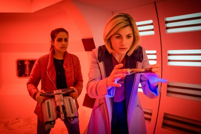 Doctor Who – Series 11 – Ep 5 – The Tsuranga Conundrum - Yaz (MANDIP GILL), The Doctor (JODIE WHITTAKER) - (c) BBC Studios