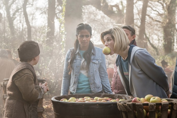 Doctor Who Series 11 - Episode 8 - The Witchfioders - Yaz (MANDIP GILL), The Doctor (JODIE WHITTAKER)