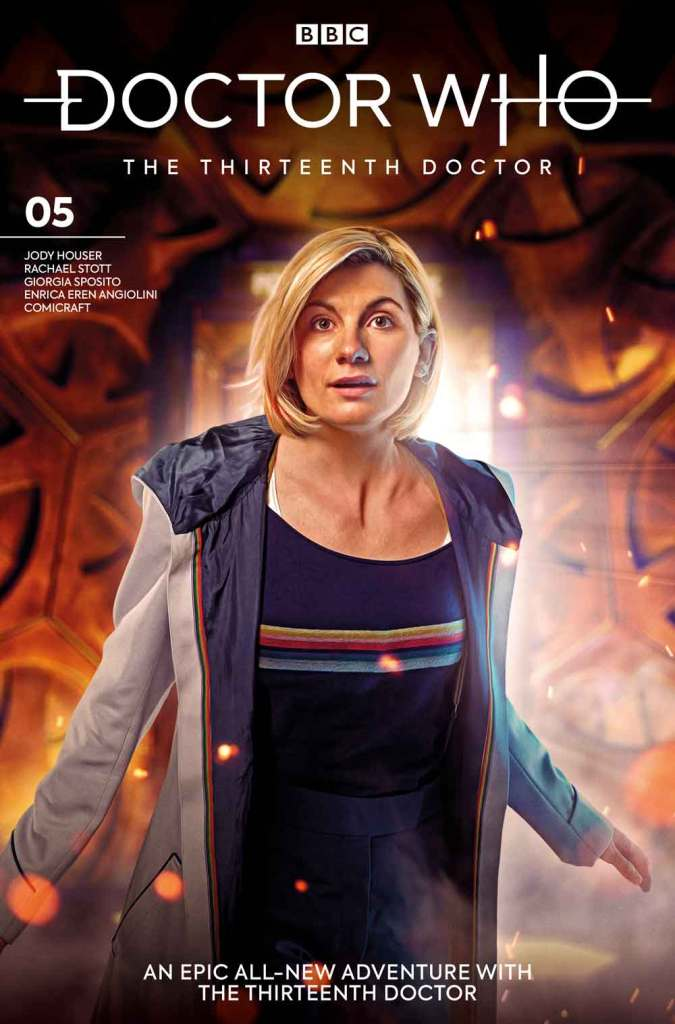 Doctor Who: The Thirteenth Doctor #5. Cover B by Will Brooks (c) BBC Studios/Titan Comics