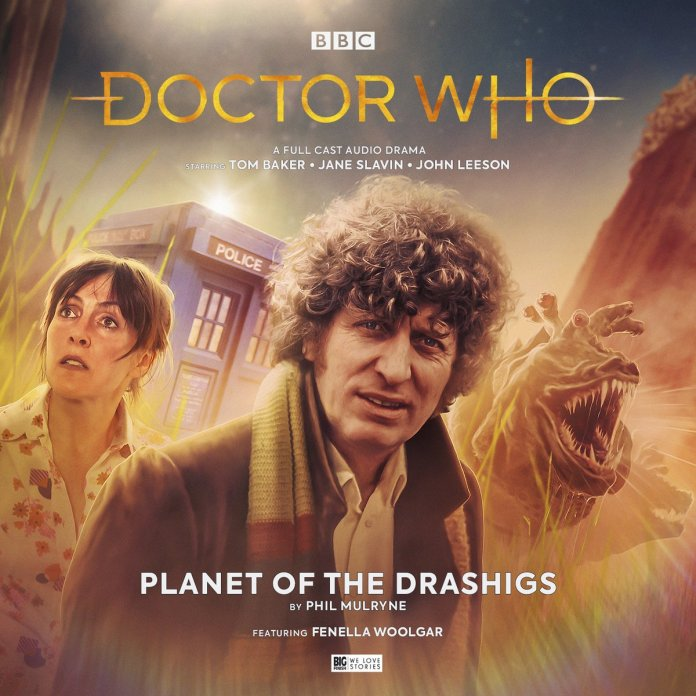 Doctor Who: Planet of the Drashigs. Cover by Anthony Lamb (c) Big Finish