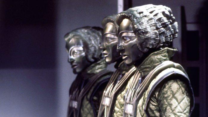 The eponymous Robots of Death (c) BBC Studios