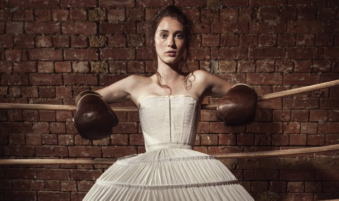 Wilkinson's play, The Sweet Science of Bruising told stories of the underground world of Victorian women's boxing (c) Southwark Playhouse