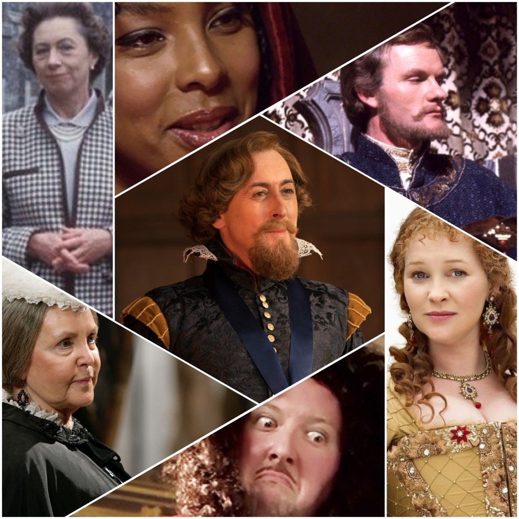 King James I and the other British monarchs the Doctor has met (c) BBC Studios