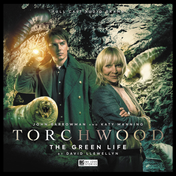 Torchwood #26: The Green Life. Cover by Lee Binding (c) Big Finish Productions