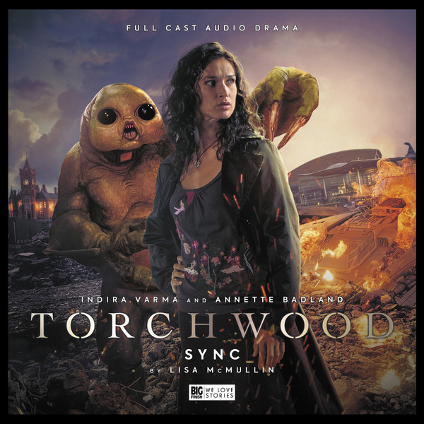 Torchwood #27: Sync. Cover by Lee Binding. (c) Big Finish Productions