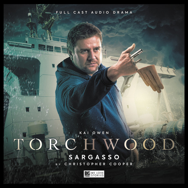 Torchwood #28: Sargasso. Cover by Lee Binding. (c) Big Finish Producitons
