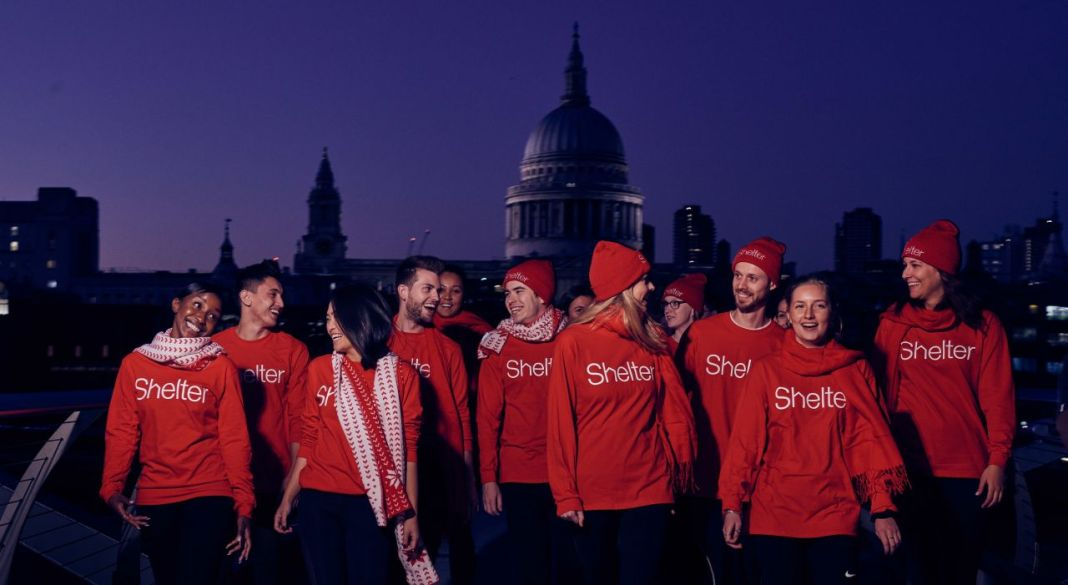 The Sleep Walk for Shelter raises vital funds to allow the charity to support homeless people at Christmas (c) Shelter