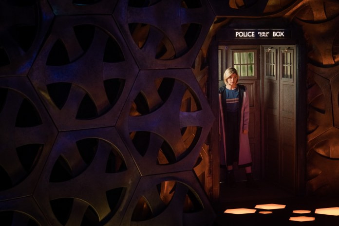 Doctor Who - Resolution - The Doctor (JODIE WHITTAKER) - (C) BBC / BBC Studios - Photographer: Sophie Mutevelian