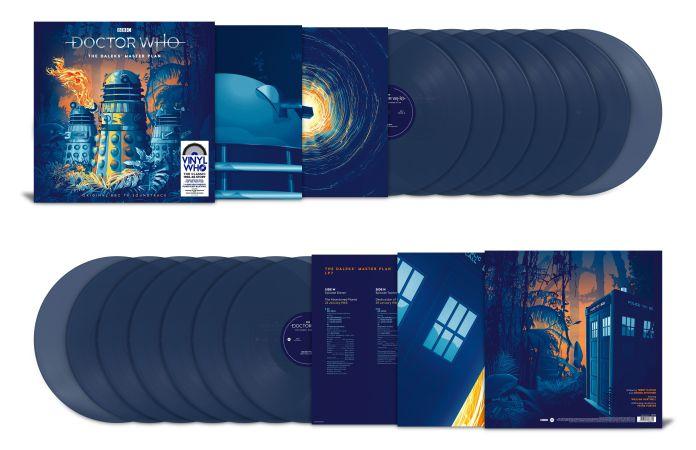The Daleks' Master Plan Standard Edition Vinyl (c) Demon Music Group