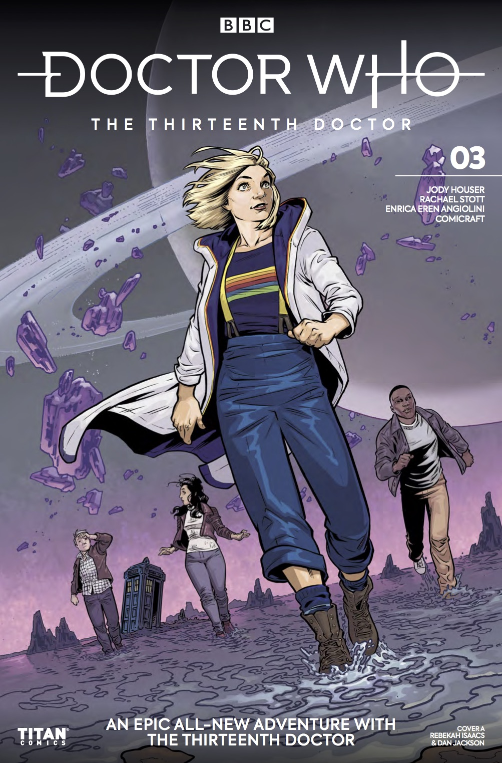 Titan Comics - Doctor Who: The Thirteenth Doctor #3 - Cover A: Rebekah Isaacs & Dan Jackson