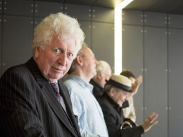Tom Baker at the 50th Anniversary Celebration in the ExCel in 2013 (c) BBC Studios