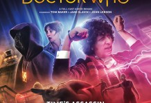 Doctor Who: The Fourth Doctor Adventures 8.5: Time's Assassin. Cover by Anthony Lamb (c) Big Finish