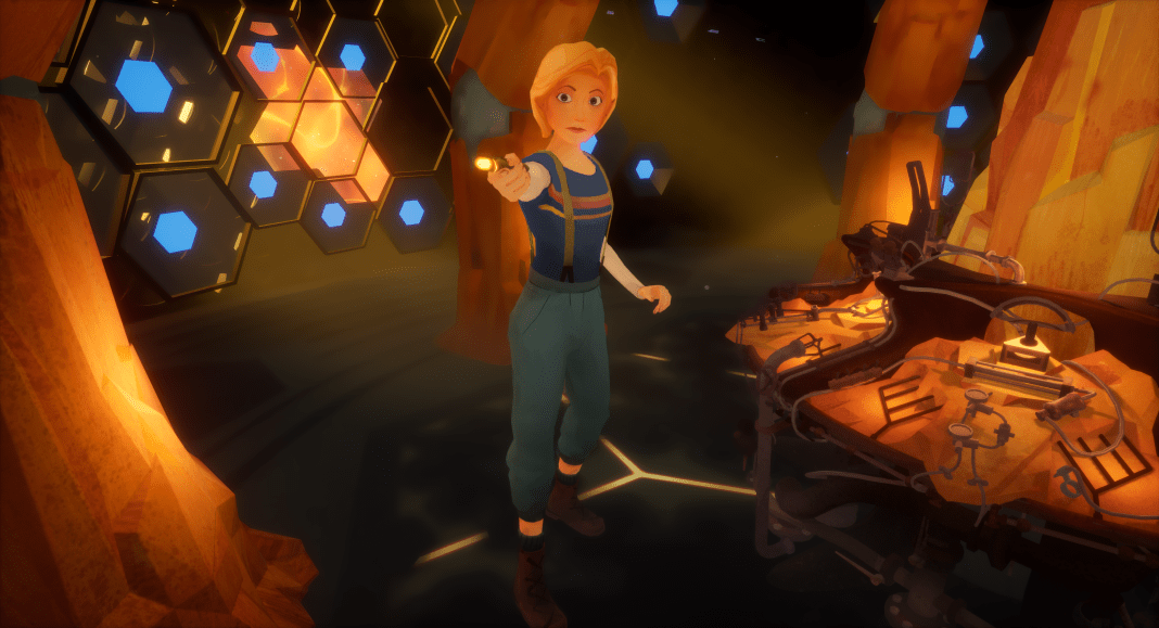 Doctor Who: The Runaway - (c) BBC VR Hub and Passion Animation Studio