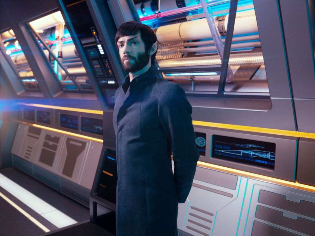 Star Trek: Discovery's Ethan Peck as the latest actor to play Spock. (c) CBS All Access