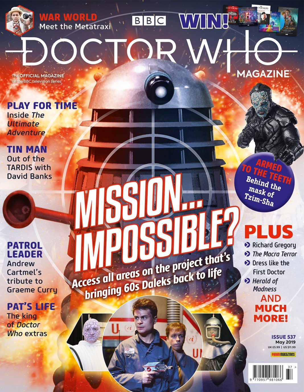Doctor Who Magazine 537 Cover (c) Panini