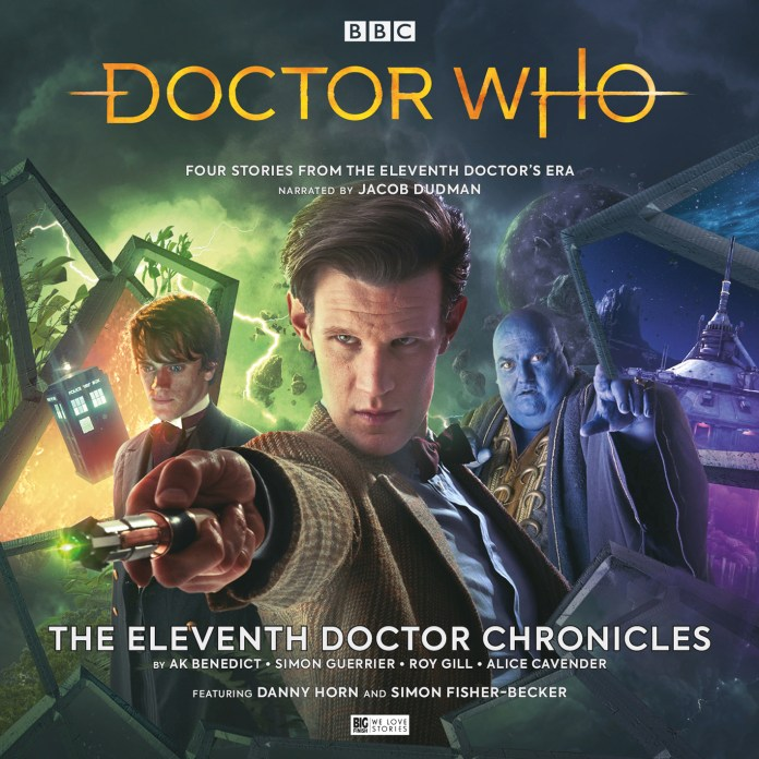 The Eleventh Doctor Chronicles Boxset Cover (c) Big Finish