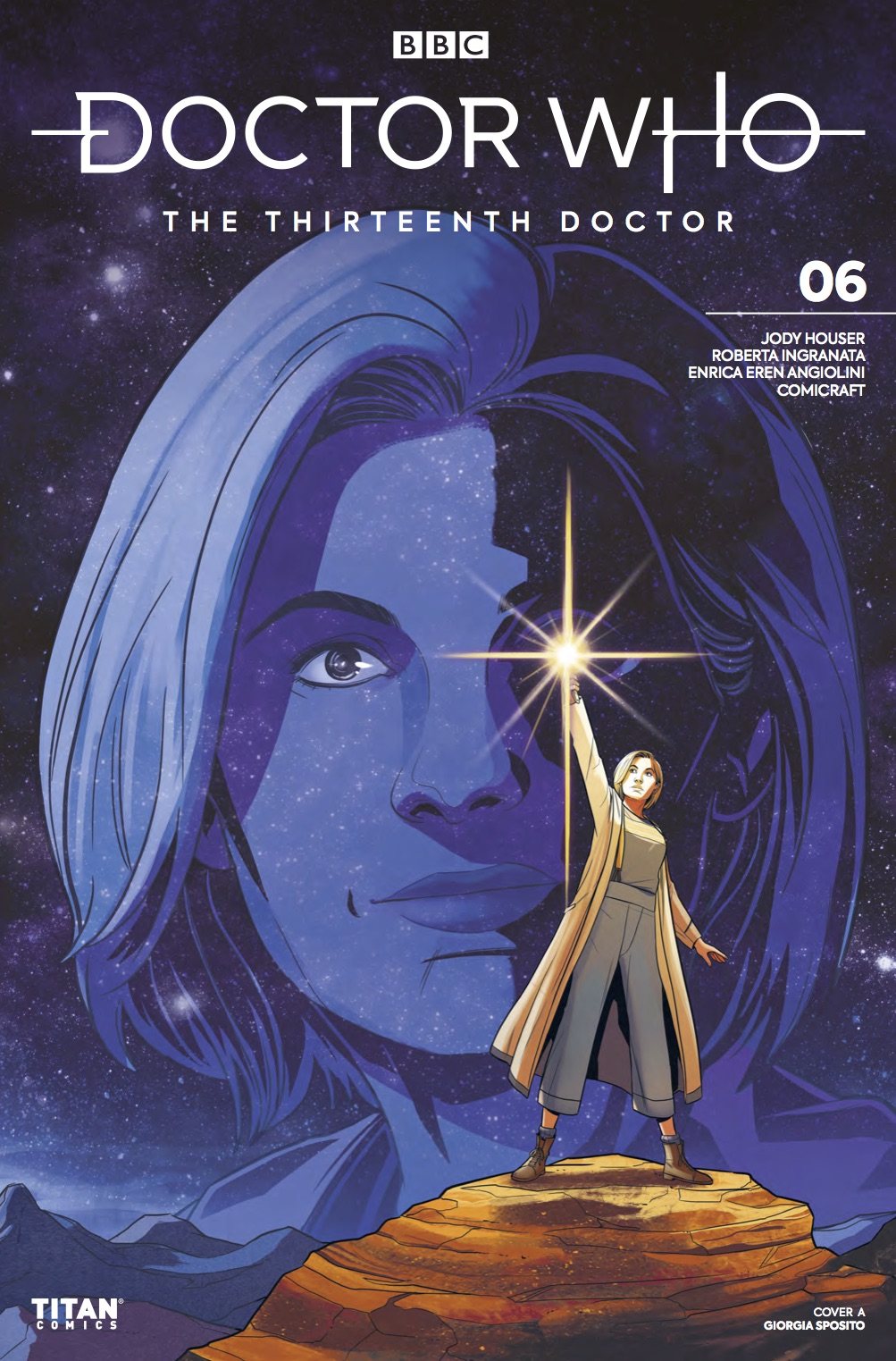 Titan Comics – Doctor Who: The Thirteenth Doctor #6 – Cover A: Giorgia Sposito
