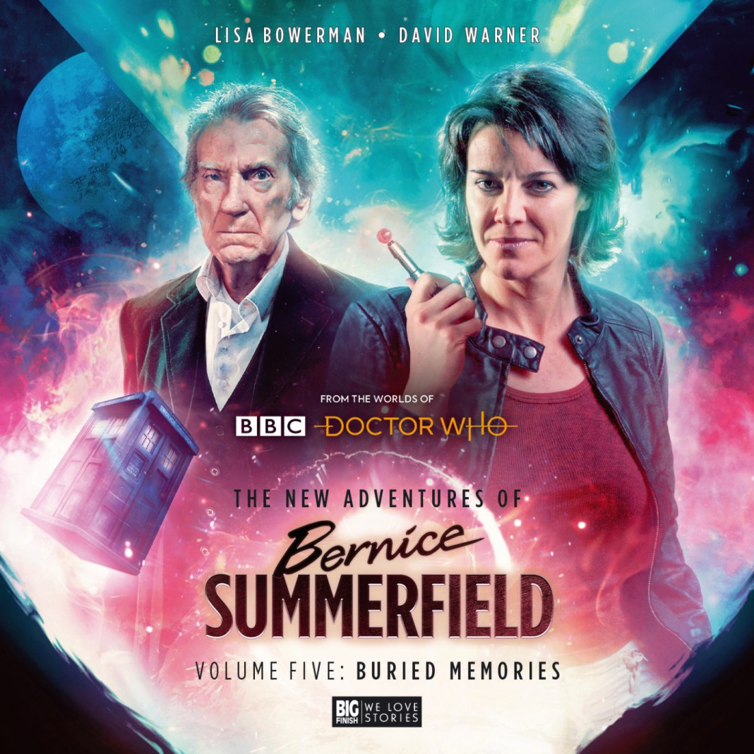 Bernice Summerfield Volume 5: Buried Memories. Cover art by Tom Newsom (c) Big Finish