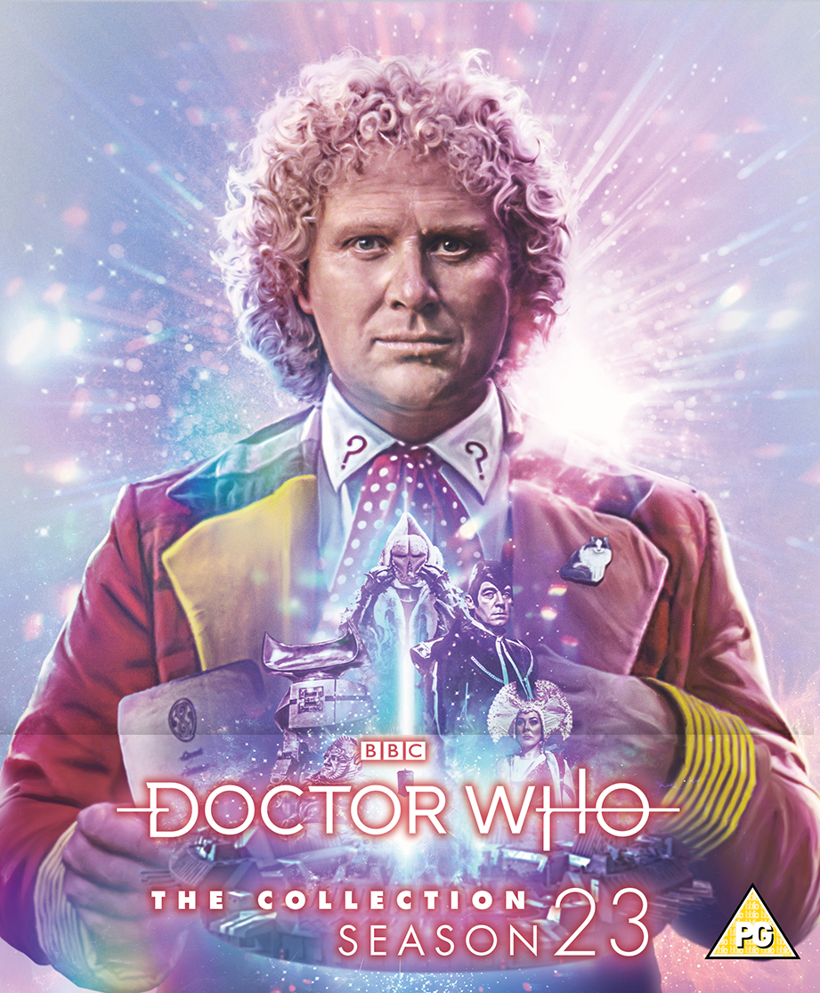 Doctor Who: The Collection - The Complete Season 23. Cover by Lee Binding. (c) BBC Studios