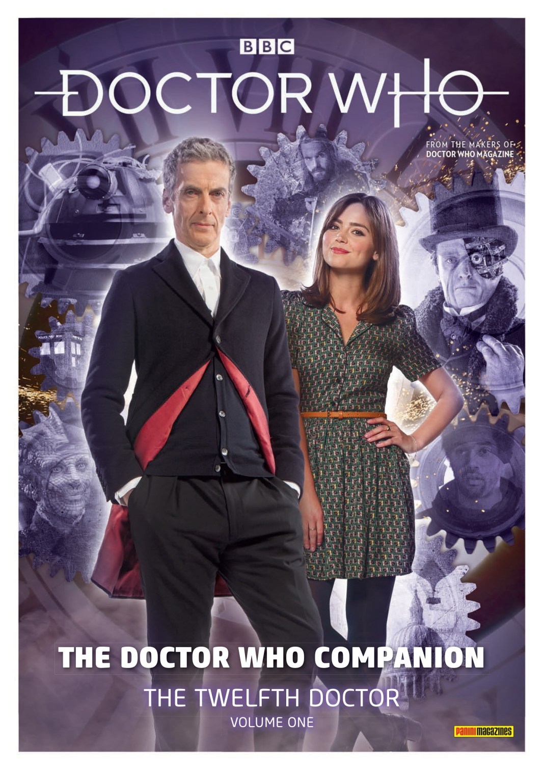 Cover to Doctor Who Magazine's Doctor Who Companion: The Twelfth Doctor Volume One (c) Panini