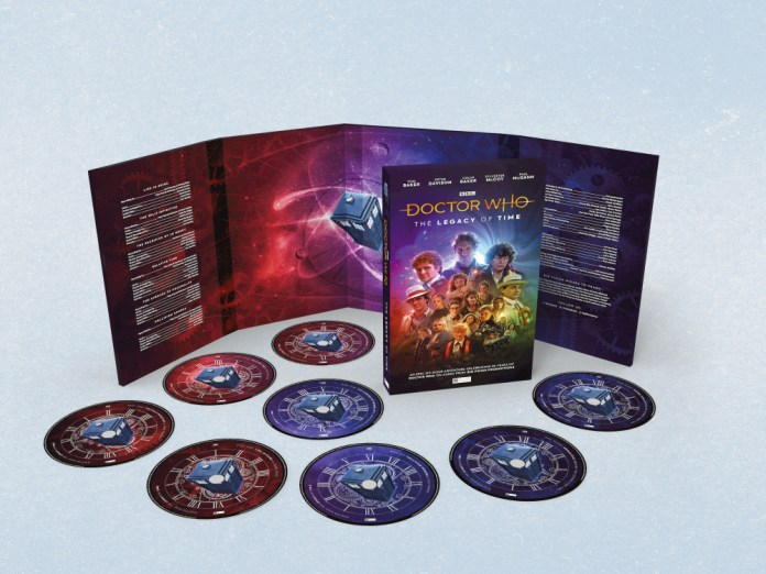 The Doctor Who: The Legacy of Time boxset (c) Big Finish Productions
