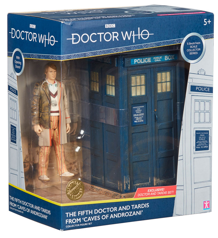 Doctor Who The Time Warrior Box-métal