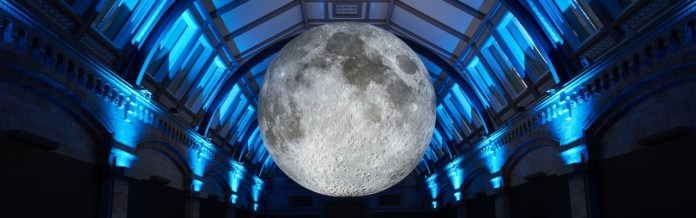 The Museum of the Moon installation at the Natural History Museum (c) Natural History Museum