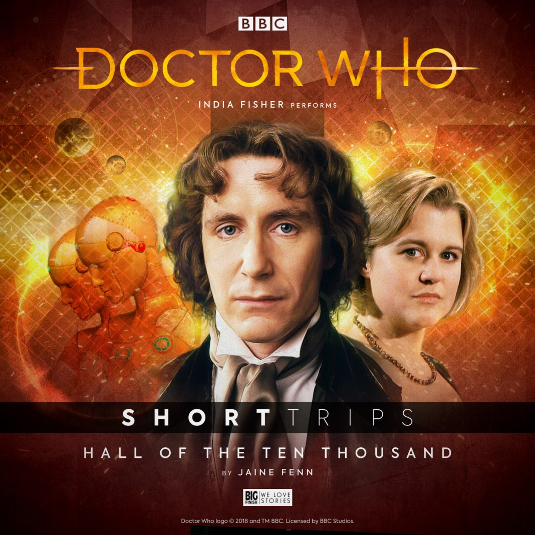 Doctor Who: Short Trips - Hall of the Ten Thousand. Cover by Mark Plastow (c) Big Finish Productions.