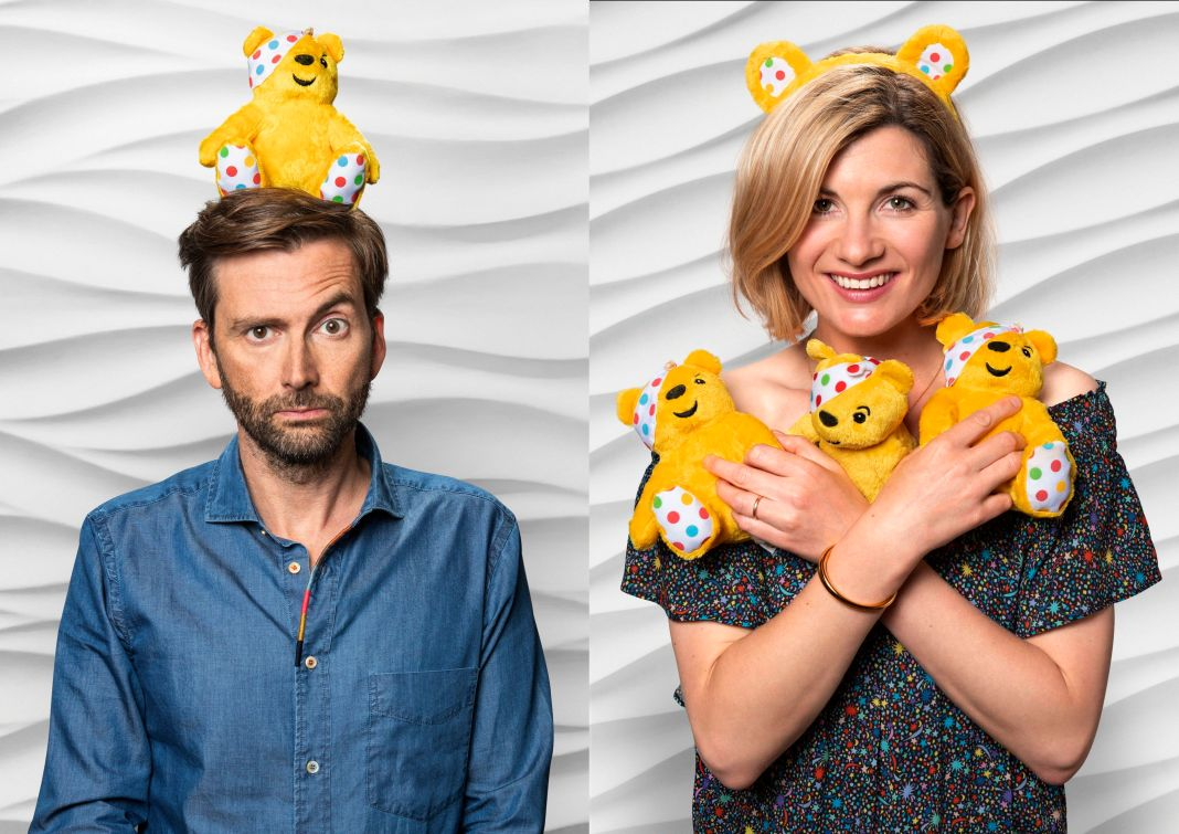 Doctor Whos past and present, David Tennant and Jodie Whittaker, join forces for Children in Need (c) Children in Need