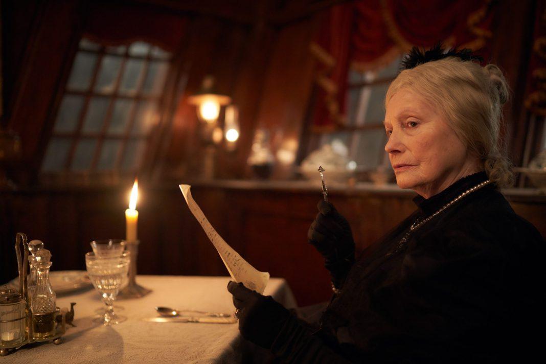 Grand Duchess Valeria (CATHERINE SCHELL) in Dracula , from Doctor Who's Steven Moffat and Mark Gatiss- (C) Hartswood Films - Photographer: Robert Viglasky