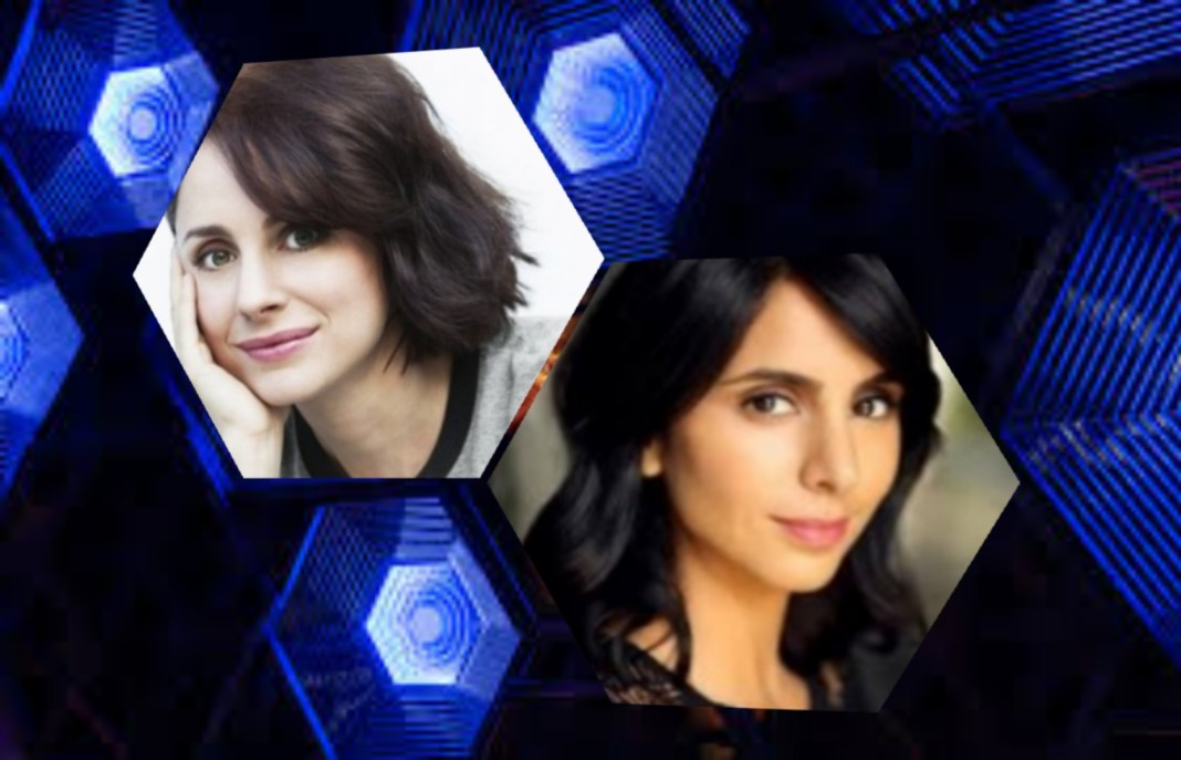Laura Fraser and Anjli Mohindra, two of the guest stars in Doctor Who Series 12 (c) BBC Studios