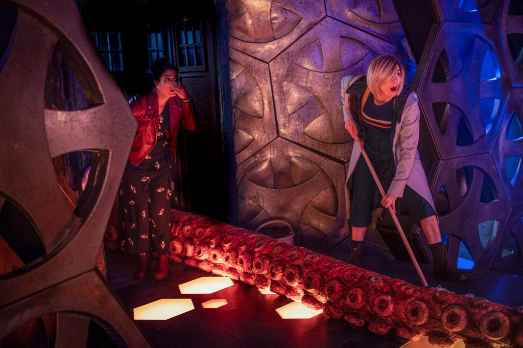 Doctor Who - Orphan 55 - S12E03 - Yaz (MANDIP GILL), The Doctor (JODIE WHITTAKER) - (C) BBC - Photographer: Ben Blackall