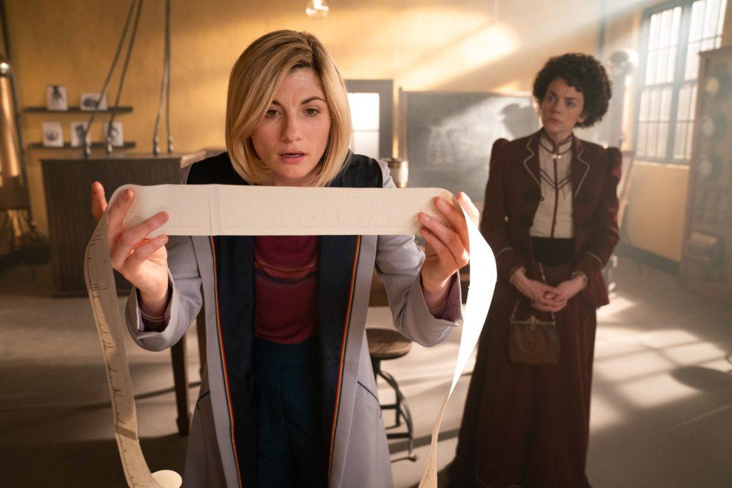 Doctor Who S12E04 - Nikola Tesla's Night of Terror - The Doctor (JODIE WHITTAKER), Dorothy Skerrit (HALEY McGEE) - (C) BBC - Photographer: Ben Blackall