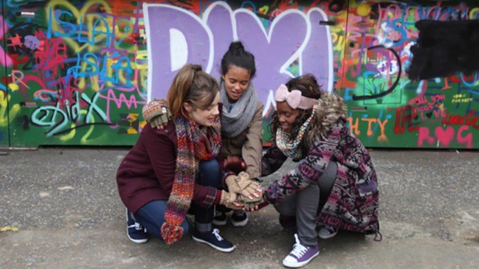 Nina Métivier produced and wrote four seasons of interactive teen drama DIXI (c) Kindle Entertainment/CBBC