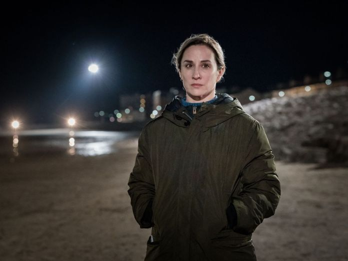 DS Lisa Armstrong (Morven Christie) searches for a missing girl in The Bay, directed by Lee Haven Jones. (c) ITV/Tall Story Pictures