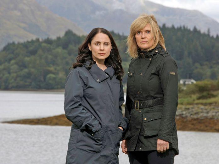 Laura Fraser and Siobhan Finnegan hunt a serial killer in The Loch (c) ITV Studios