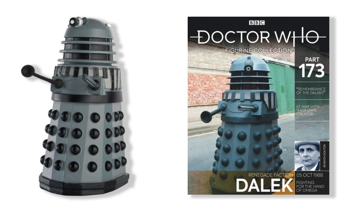 The Renegade Dalek figurine as featured in Doctor Who Figurine Collection #173 (c) Hero Collector