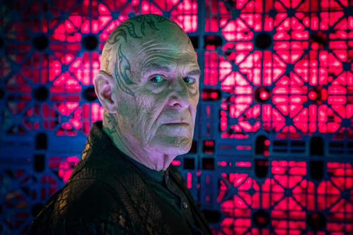 Doctor Who - Can you hear me? S12E07: Ian Gelder as Zellin - Photo Credit: Ben Blackall/BBC Studios/BBC America