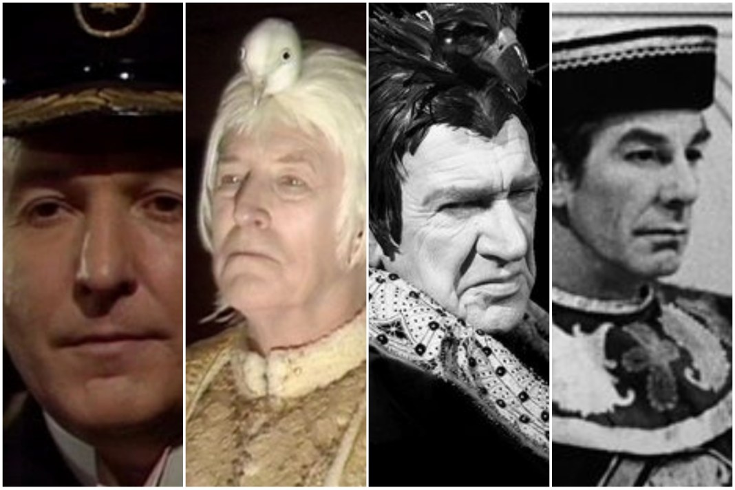Some of the immortal godlike beings to have encountered the Doctor (c) BBC Studios Doctor Who Can You Hear Me Enlightenment White Guardian Black Guardian Celestial Toymaker