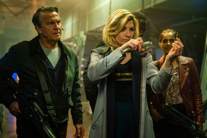 Graham (BRADLEY WALSH), The Doctor (JODIE WHITTAKER), Ryan (TOSIN COLE), Yaz (MANDIP GILL) - (C) BBC - Photographer: James Pardon