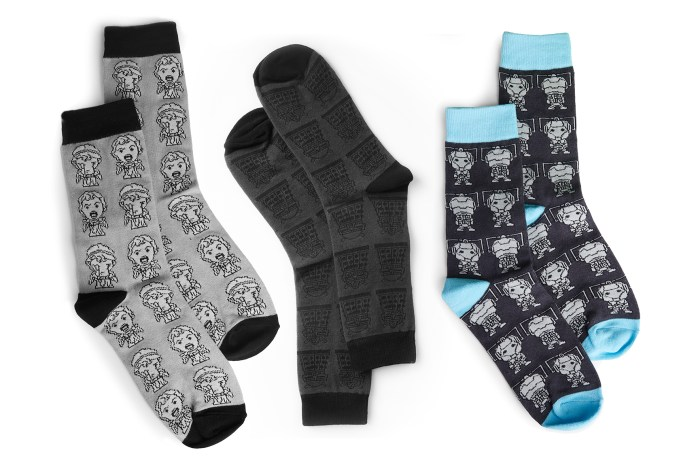 The Doctor Who Monster sock collection (c) Hero Collector