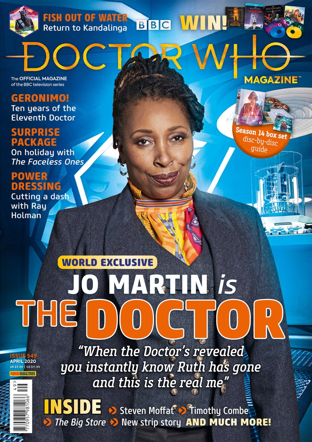 Doctor Who Magazine #549 (c) Panini Jo Martin Series 12