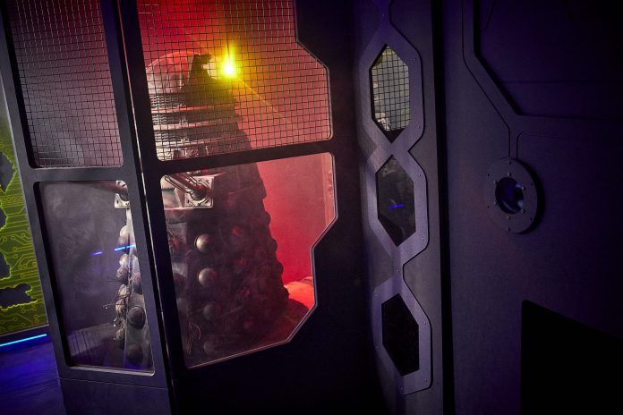 Doctor Who: A Dalek Awakens Time Lord Victorious Starship Future